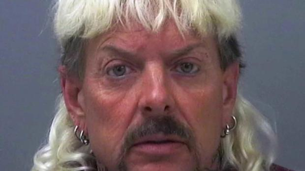 Joe Exotic arrest photo