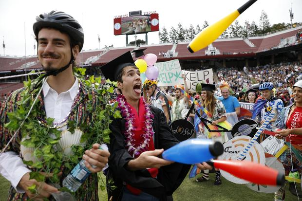 Stanford University Holds Commencement Ceremony