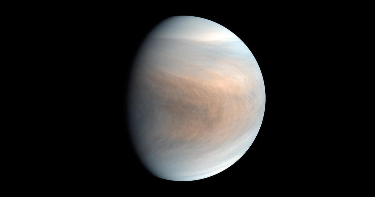 Astronomers find possible sign of life on Venus – CBS News