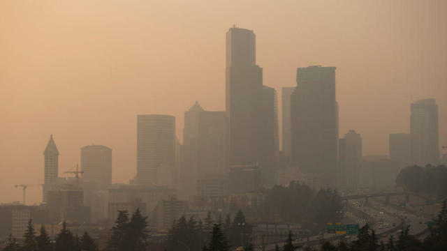 Seattle wildfire smoke
