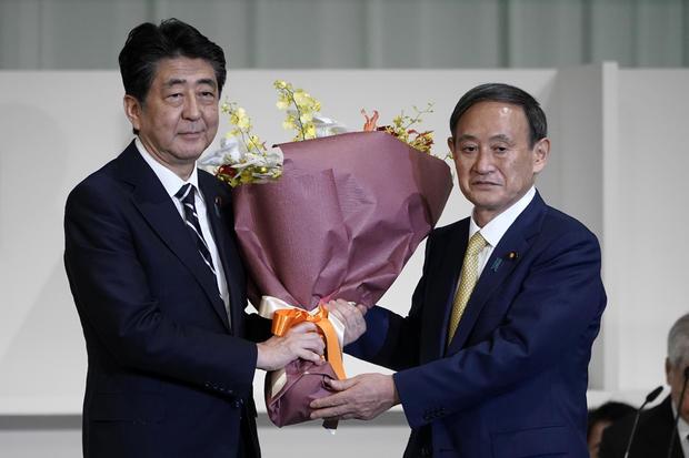Yoshihide Suga Wins Japan's Ruling Party LDP Leadership Election