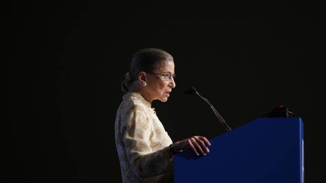 APTOPIX Ginsburg Award