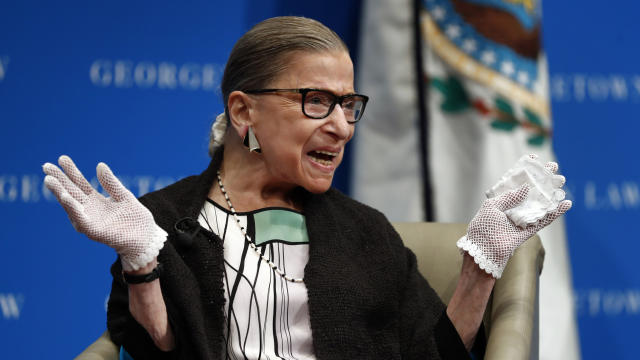 Supreme Court Justice Ginsburg Staying Put