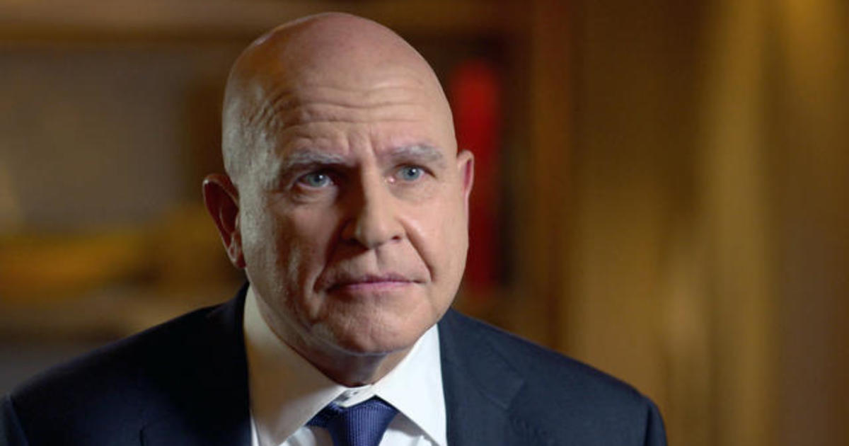 H.R. McMaster: The 60 Minutes Interview