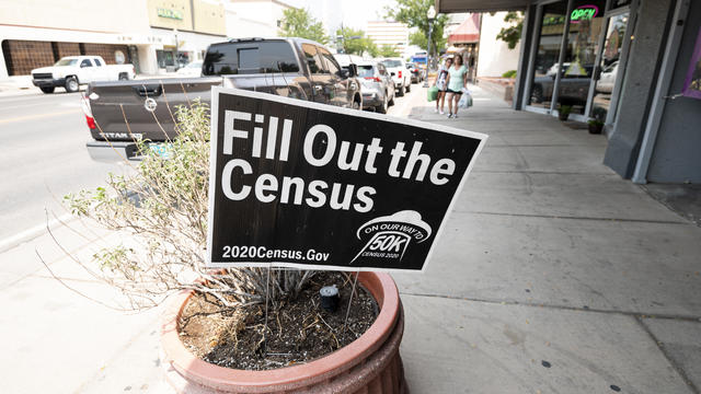 Census Sign