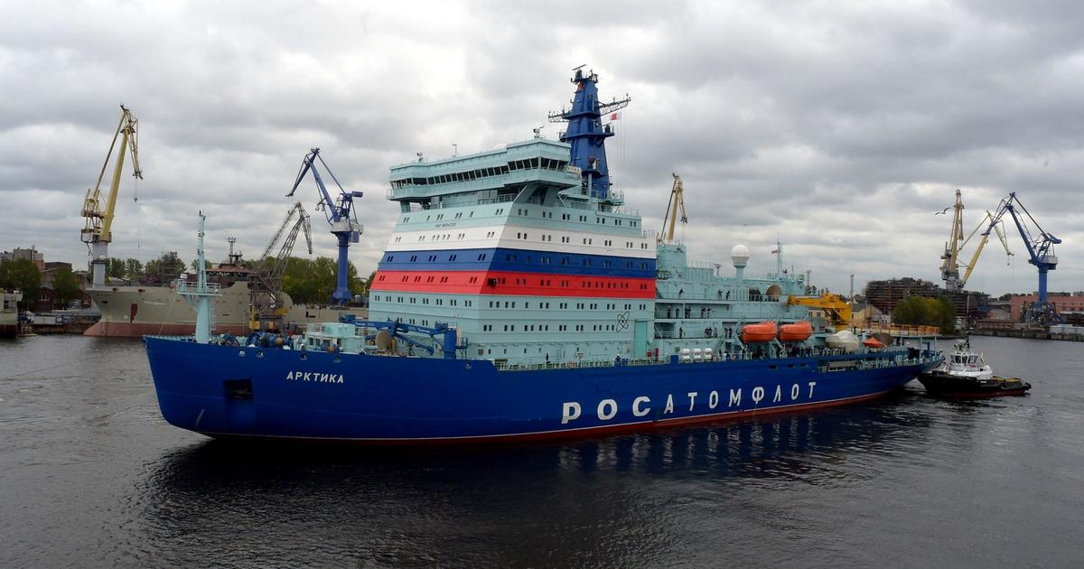 Russia touts nuclear-powered icebreaker as proof