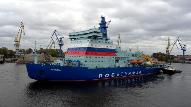RUSSIA-ECONOMY-ARCTIC-NUCLEAR-ICEBREAKER