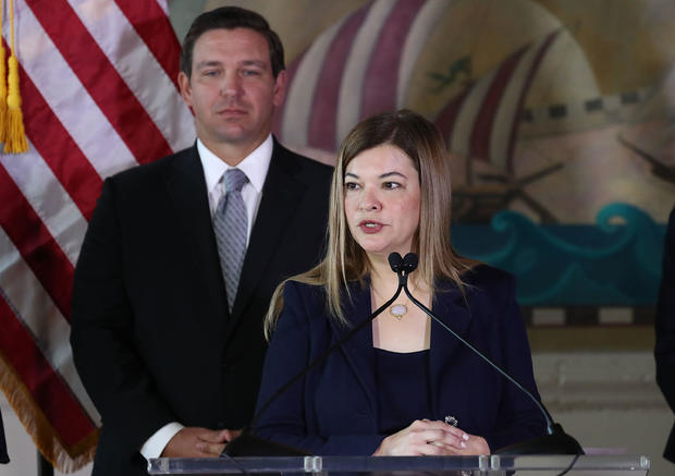Newly Sworn-In Florida Governor Ron DeSantis Makes Announcement Regarding Florida Supreme Court In Miami