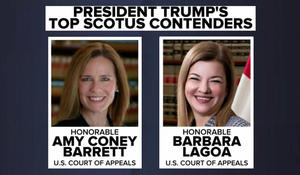 2 women emerge as top contenders to succeed Justice Ginsburg
