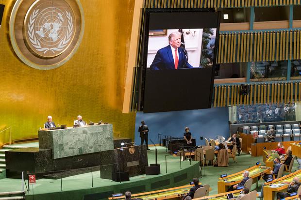 75th annual U.N. General Assembly — Donald Trump