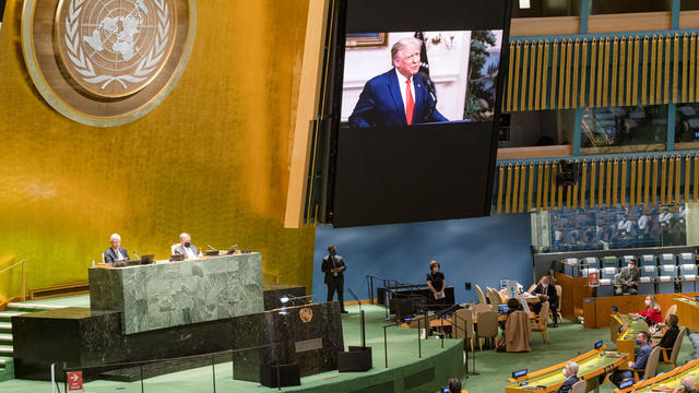75th annual U.N. General Assembly — Donald Trump