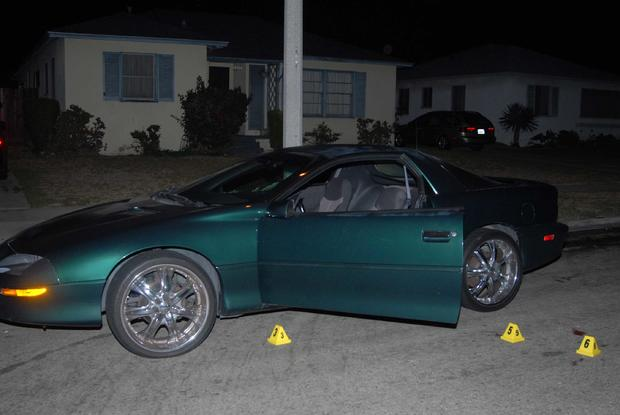 Evidence: Kevin Harris car