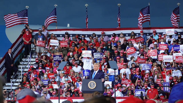 President Trump Hosts A Great American Comeback Campaign Event In Jacksonville