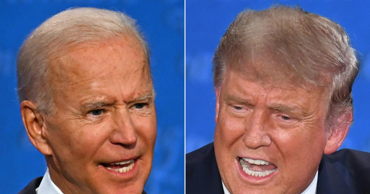 First debate descends into chaos as Trump and Biden exchange attacks