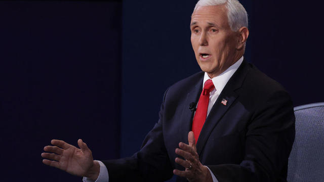 Mike Pence — VP debate