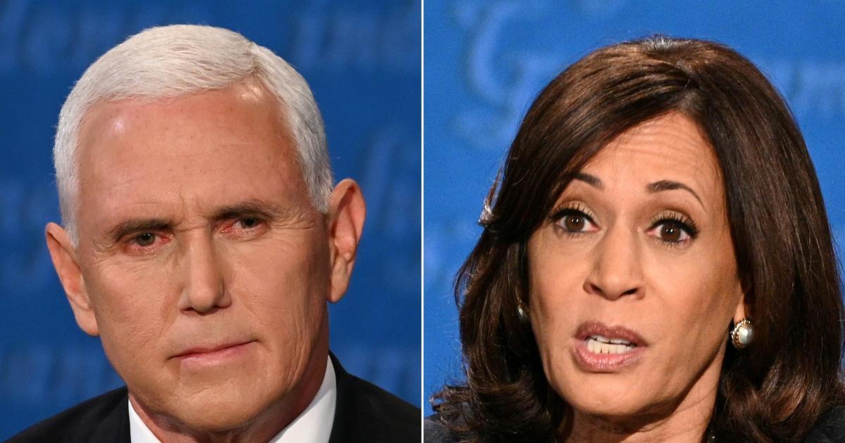 Pence and Harris clash over virus at vice presidential debate