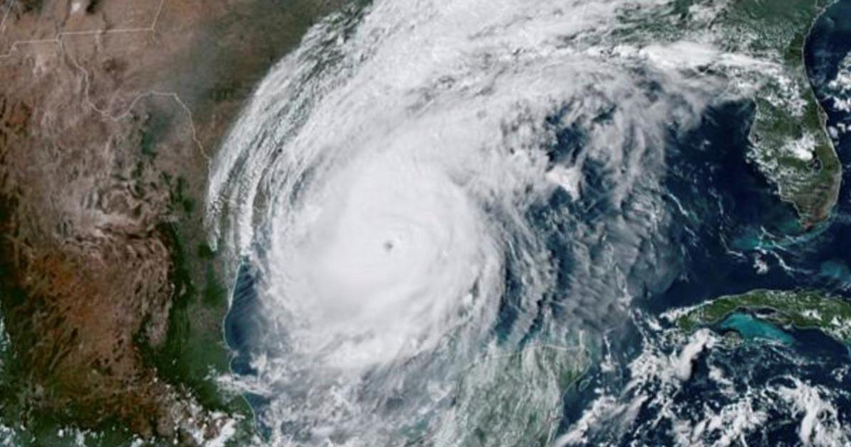 Hurricane Delta starts lashing Texas and Louisiana