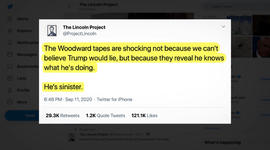 How the Lincoln Project's tweets get made