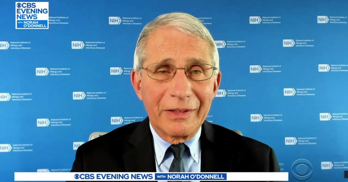 "Dr. Fauci on COVID surge Trump's recovery and a ""very different"" Thanksgiving – CBS News"