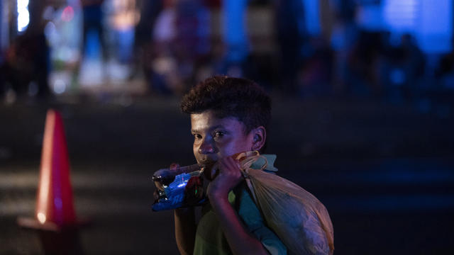 APTOPIX Guatemala Honduras Migrants