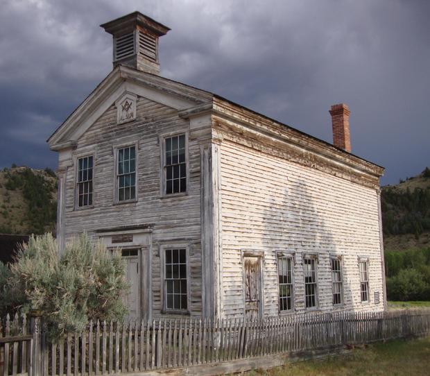 Haunted Old Masonic Lodge (Bannack, Montana)