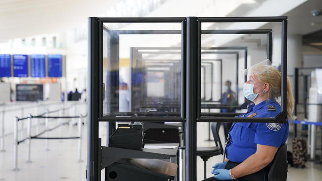 Virus Outbreak New York Airports