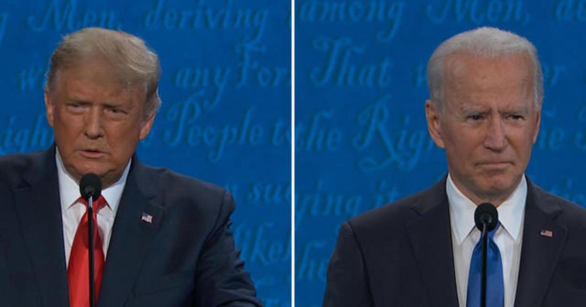 Watch the full second debate between President Trump and Joe Biden