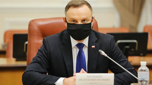 President Of Poland Duda Holds Official Visit To Ukraine
