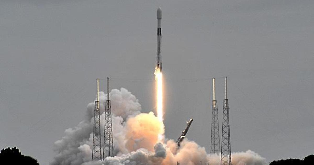 SpaceX launches 60 more Starlink internet satellites from Cape Canaveral