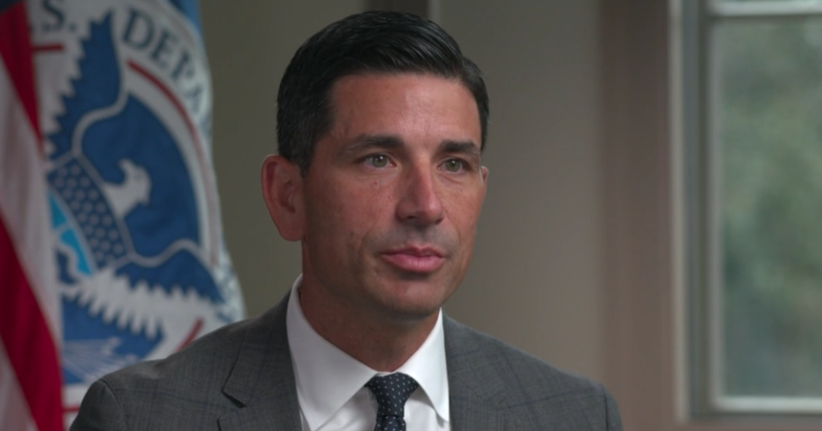 Acting DHS Secretary Chad Wolf talks election security: