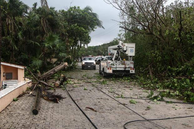 Hurricane Zeta — Mexico
