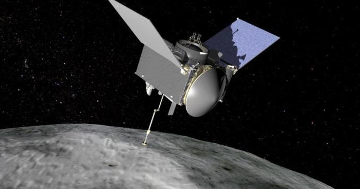 Asteroid samples successfully sealed in capsule to return to Earth, NASA says