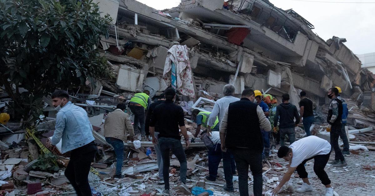 Deadly 7 0 Magnitude Earthquake Rocks Turkey And Greek Island Cbs News