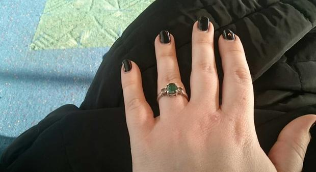 Anna Repkina/Michelle Chavez ring
