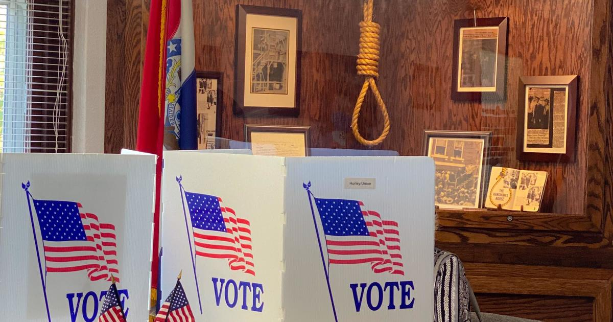 Noose displayed near Missouri voting booths covered up amid complaints