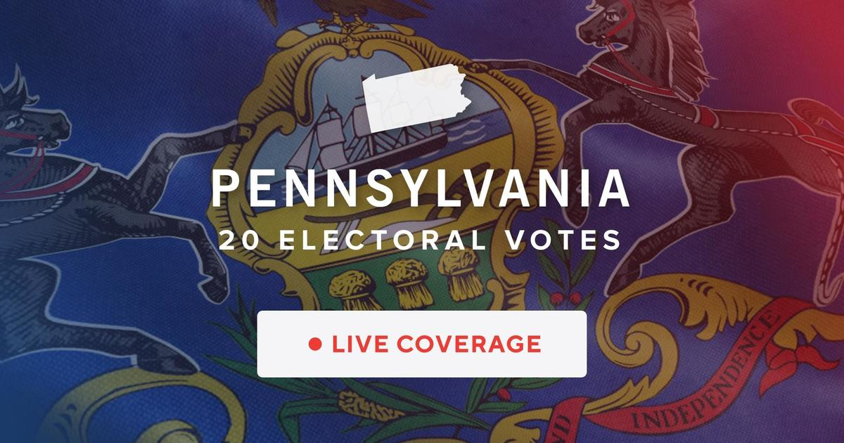 Pennsylvania 2020 election results – CBS News