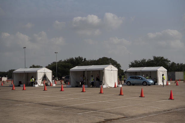 Texas Residents Cast Ballots As Early Voting For U.S. Presidential Election Begins