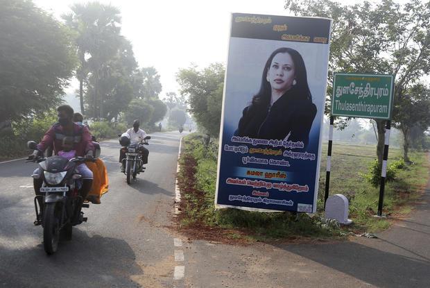 APTOPIX Election 2020 Harris India