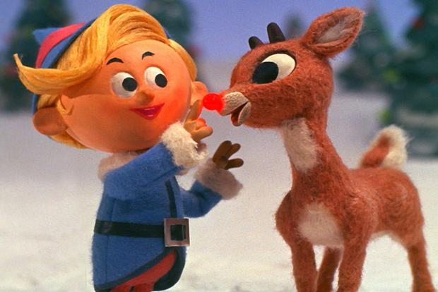 "(TIE) 7. ""Rudolph the Red-Nosed Reindeer"" (95%)"