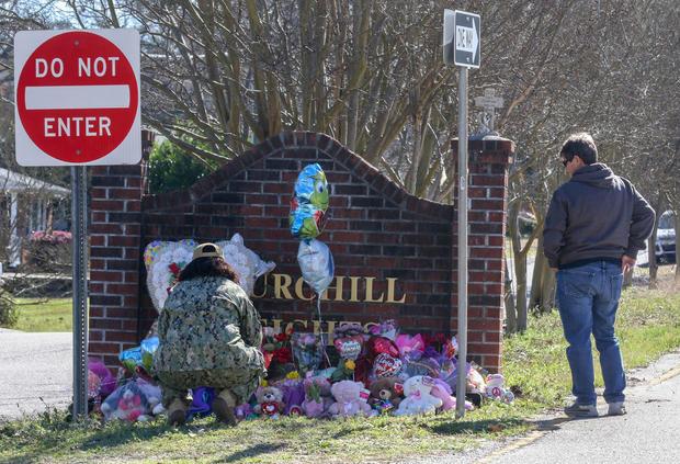 Memorial in honor of 6-year-old Faye Swetlik