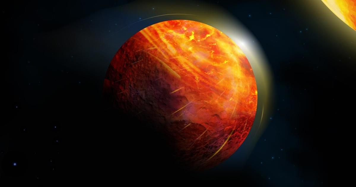 Scientists discover bizarre hell planet where it rains rocks and oceans are made of lava