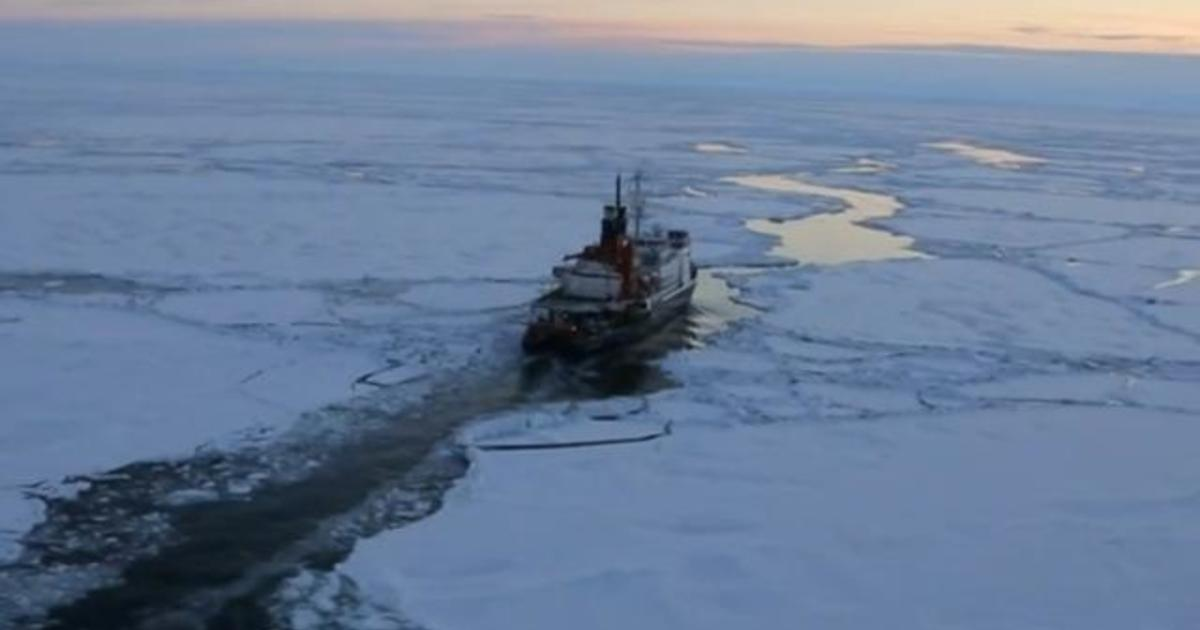 Temperatures in the Arctic are astonishingly warmer than they should be - CBS News