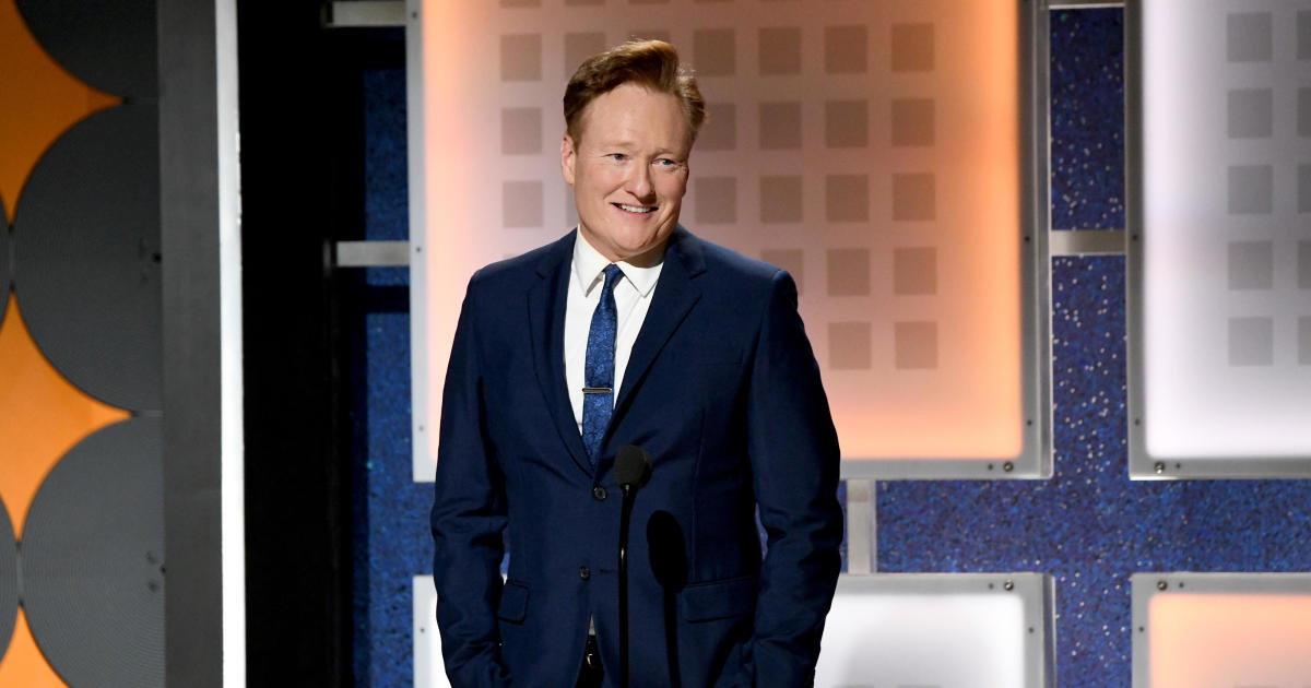 Conan O'Brien ending late night TV talk show next year after 10 seasons on TBS – CBS News