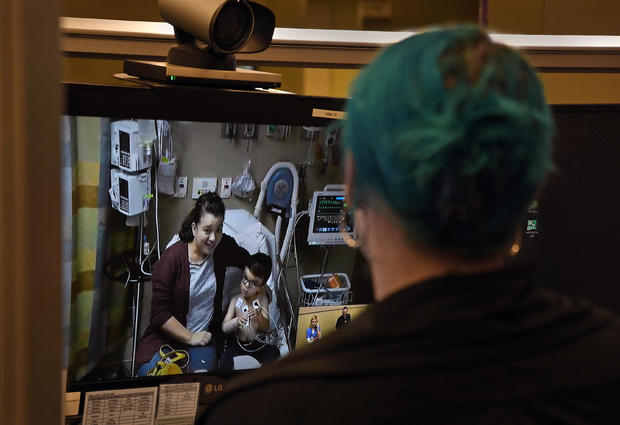 Rural Understaffed Hospitals Get Help From A Virtual ER Staff Via Video