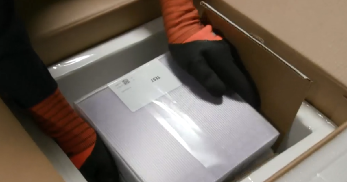 How Pfizer plans to keep its vaccine at subarctic temperatures during transport - CBS News
