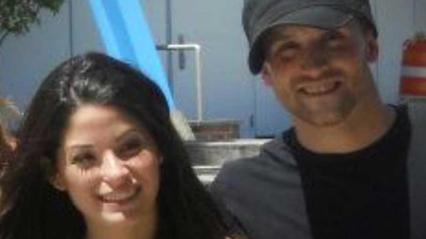 Nikki Addimando and Chris Grover