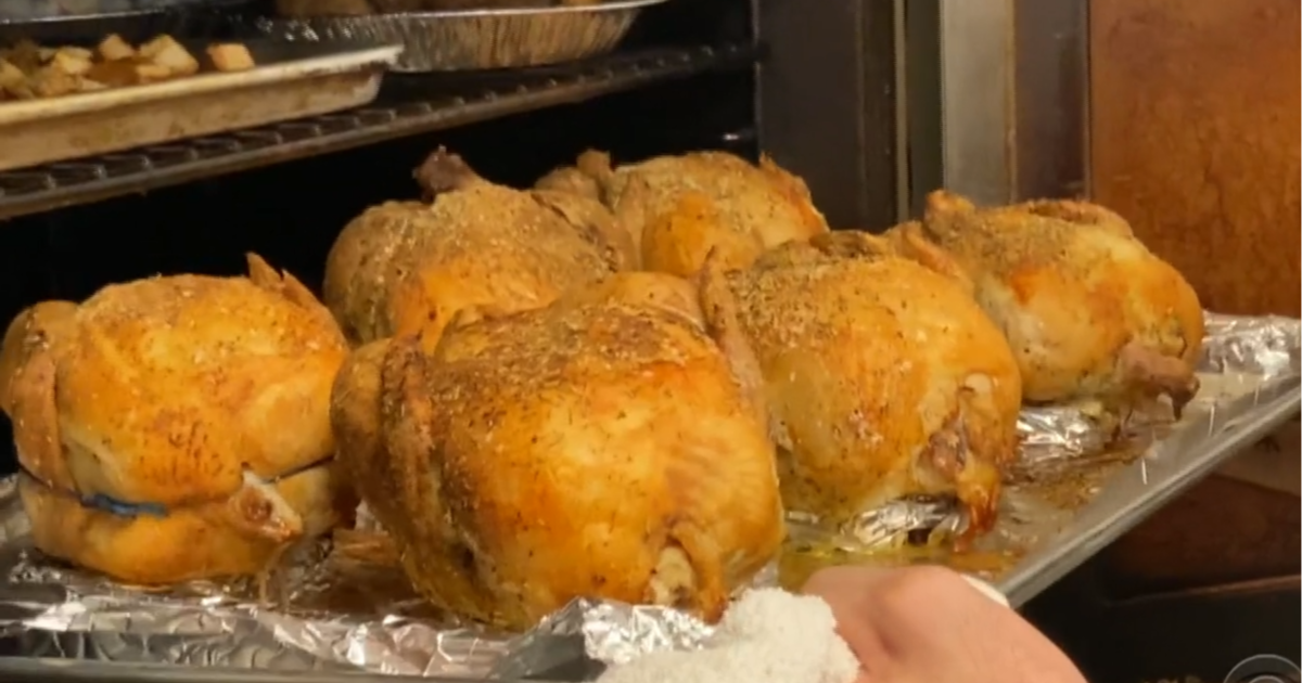 As Thanksgiving approaches, New York deli offers free chickens to families in need