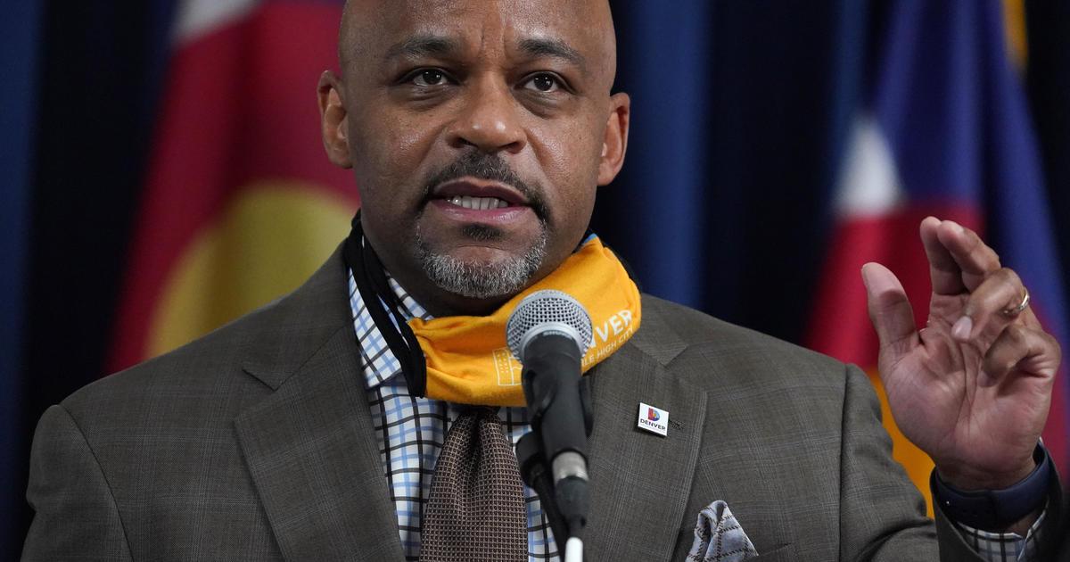 Denver mayor who urged residents to