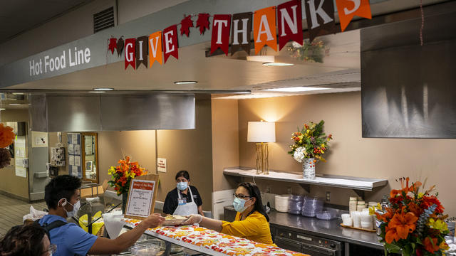 Hospital Staff At Seattle's Harborview Medical Center Work On Thanksgiving