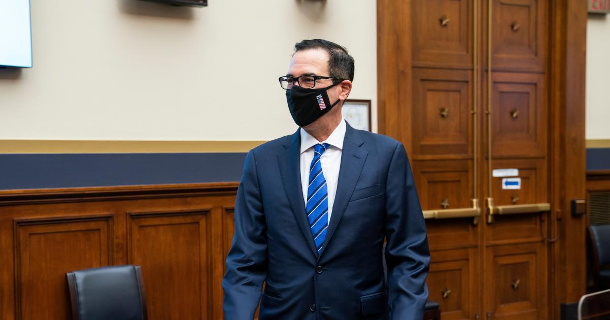 Mnuchin signals White House support for McConnell`s narrow...